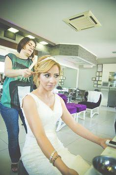 Make Up Before Wedding by Mutlu Anlar Photography - Wedding Getting Ready ( mutluanlar, mezuniyetresimleri, mutluanlarphotography, bride, pe...