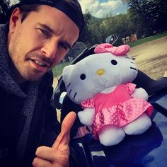 So I forgot to gas up to full in the morning so I have to wear the hello kitty backpack until someone else screw up or drops the ball…. Heartland Ranch, Heartland Cast, Cartoon Network Adventure Time, Adventure Time Anime, Heartland Characters, Hello Kitty Backpacks, Ty Borden, Ty And Amy, Graham Wardle