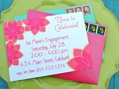 Shades of Pink - Our Favorite Printable Party Invitations for Year-Round Celebrations on HGTV
