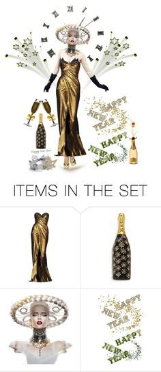 """""""Happy New Year Doll Contest😀"""" by ragnh-mjos ❤ liked on Polyvore featuring art, contest, doll, artset and happynewyear"""