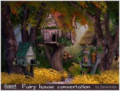 Sims 4 CC's - The Best: Supernatural Fairy House Conversion by Severinka