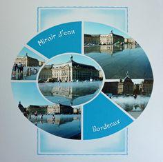 Le miroir d'eau de Bordeaux. Gabarit Grand ovale