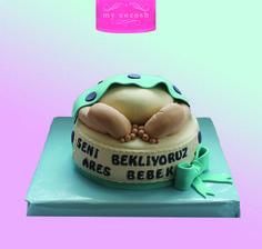 babay shower cake