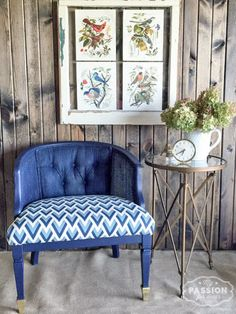 I'm excited to show you my project for the The Fab Furniture Flippin' Contest ! White Furniture, Furniture Plans, Painted Furniture, Restoring Old Furniture, Top Furniture Stores, Furniture Restoration, Furniture Inspiration, Upholstery, Interior Design