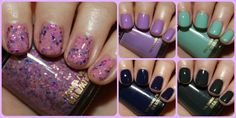 Revlon Bubble Gum Days Urban Nights Collage...can't decide which ones I like best...love them all :))