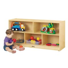 Jonti Craft Toddler Single Mobile Storage Unit