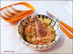 Pilaf cu pulpe de pui Risotto, Ethnic Recipes, Food, Essen, Meals, Yemek, Eten