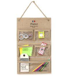 Органайзер для хранения Clear Wall Pocket (разные дизайны) / Франция