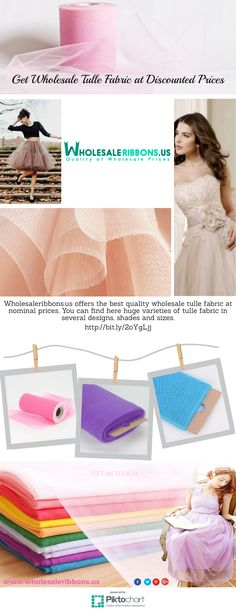 Get Wholesale Tulle Fabric at Discounted Prices | Wholesale Ribbons US  Wholesaleribbons.us offers the best quality wholesale tulle fabric at nominal prices. You can find here huge varieties of tulle fabric in several designs, shades and sizes.