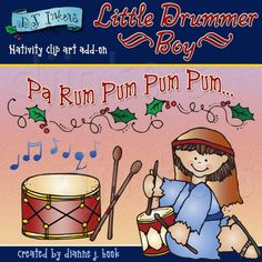 little drummer boy, nativity, clip art, christmas, clipart, drum, pa rum pum