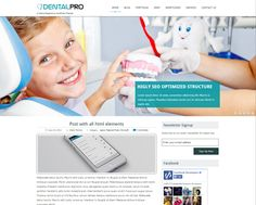 DentlePro WordPress theme