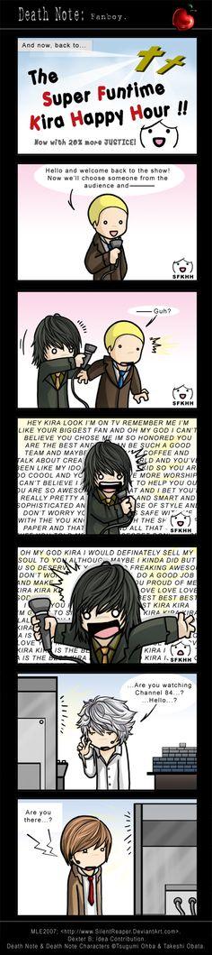 Death Note: Fanboy. by SilentReaper.deviantart.com on @deviantART
