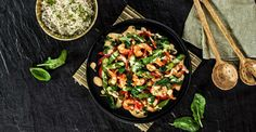 Camarão com Legumes | Receitas do Chef em Família