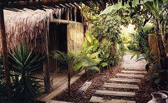 Indoor-outdoor Spa at UXUA Casa Hotel & Spa. Trancoso, Bahia.