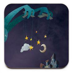 The-Night-Puppeteer-Coaster-Mark-Bird-Illustration