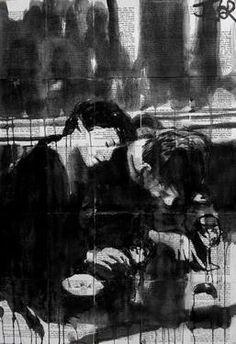 "Saatchi Art Artist Loui Jover; Drawing, ""la methode (homage stromholm)"" #art"