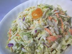 This low carb coleslaw is easy to make and tastes great. My husband thought is was from KFC - only better! Give it a try. Its good with most meats, but I really like it on corned beef or hamburgers.