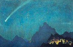 Star of the Hero, 1932 - Nicholas Roerich                                                                                                                                                                                 Plus