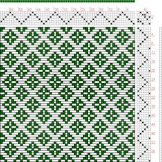 Hand Weaving Draft: Page 121, Figure 15, Donat, Franz Large Book of Textile Patterns, 6S, 6T - Handweaving.net Hand Weaving and Draft Archive
