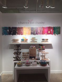 Chavez for Charity - Looking for a great way to accessorize your wardrobe? Displayed is a colorful line full of bracelets, earrings, and necklaces. You'll also love that of gross profit is given to partner charities. Necklaces, Bracelets, Your Best Friend, Showroom, Charity, Jewlery, June, Rainbow, Colorful