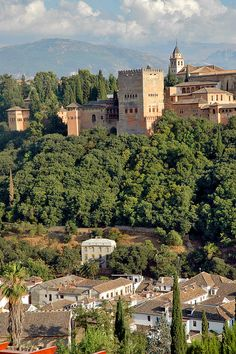 Alhambra, Granada by PM Kelly, via Flickr