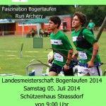 Landesmeisterschaft Bogenlaufen 2014 | Thomas Jack Wanner