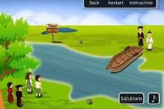 Looking for games that are tough yet addictive? The River Tests game for iPhone & iPad will test your IQ