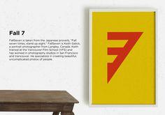 Fall 7 - Brand Identity by Maskon Brands™ , via Behance