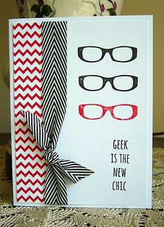 Geek is the new Chic! I love this stamp set :)