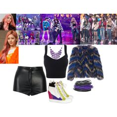 SNSD - I Got A Boy by marisolmoua on Polyvore featuring polyvore fashion style Giuseppe Zanotti Isabel Marant Alexa Starr