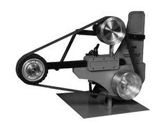 "Bader BIII Grinder w/variable speed motor, 2 HP, 8"" x 2"" wheel  - knife making grinder"
