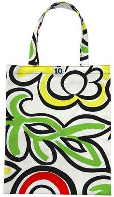 Cotton bag from 10-gruppen. Pattern Java by Birgitta Hahn 2004. www.tiogruppen.com