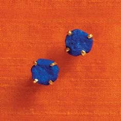 kate spade NEW YORK : turquoise mountain blue lapis studs | Sumally