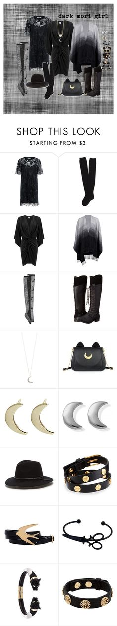 """""""dark mori girl"""" by suchajocundcompany ❤ liked on Polyvore featuring Carven, Aéropostale, MISA Los Angeles, Boohoo, N°21, Rocket Dog, Accessorize, Usagi, ChloBo and Tory Burch"""