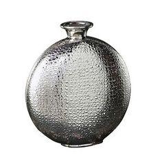 Howard Elliott Small Metallic Crocodile Vase