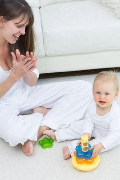 Raus aus dem Babystress - Die Frühförderung nicht übertreiben...