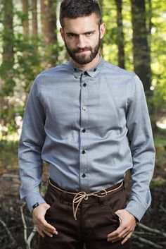 Vix - pánská košile Men's Fashion, Shirt Dress, Pattern, Mens Tops, Shirts, Dresses, Moda Masculina, Vestidos, Mens Fashion