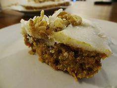 #Raw #CarrotCake with #Coconut Butter Icing - #rawcake #rawfoodshare #rawvegan #rawfreeshin