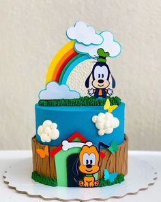 Baby Cakes, Baby Birthday Cakes, Girl Cakes, Cupcake Cakes, 2nd Birthday Party For Boys, Rodeo Birthday, Miss Cake, Love Cake, Bolo Tom E Jerry