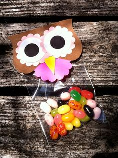 owl party favor