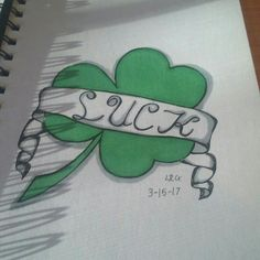 St.Patrick's Day drawing