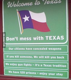 Meanwhile in Texas...