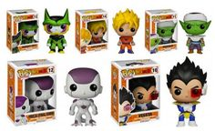 Funko Unveils 'Dragon Ball Z' & 'Black Butler' Pop! Vinyl Figures