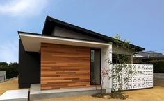 Japan Architecture, Interior Architecture, Japanese Modern House, Outdoor Living, Outdoor Decor, Patio Roof, Model Homes, Home Builders, House Colors