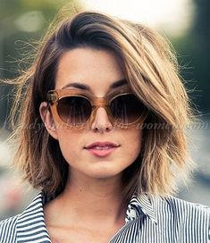 Shaggy Bob Hairstyle Trends For Short Hair 2017 6