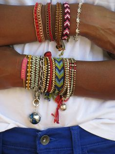 i want every single one of these bracelets!