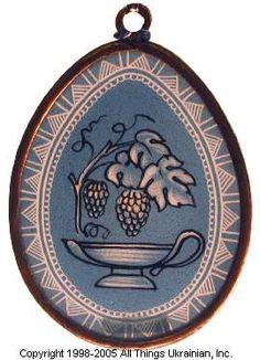 Stained glass Easter Egg Pysanky # UA05-2050 from Ukraine. http://www.allthingsukrainian.com