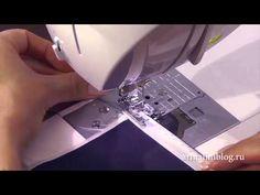 Как обработать леской край ткани (3 способа) / How to sew the bottom of a fabric with fishing wire - YouTube