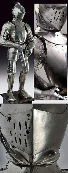An important armour,    provenance: Germany dating: third quarter of the 16th Century.