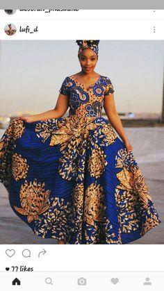 African Maxi Dresses, Ankara Dress Styles, African Attire, African Wear, African Fashion Designers, African Traditional Dresses, Big Girl Fashion, Kebaya, Matilda